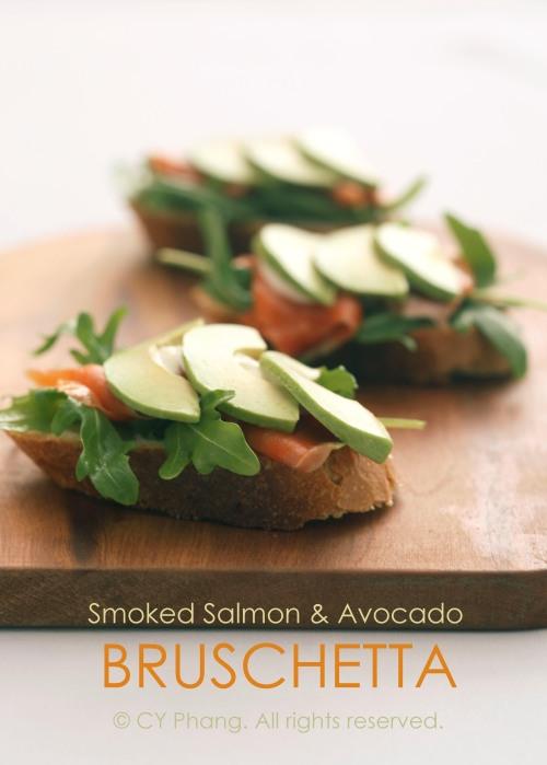 Smoked salmon & avocado bruschetta-IMG_6322-6200 copy2