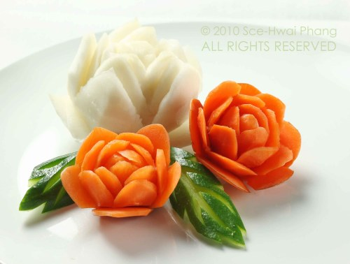Fruits vegetable carving part i cooking heals
