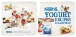 Front and back cover of Nestle Malaysia's yogurt recipe booklet, please note that I only styled the food for the photos on the back cover (left side), and the small photo on the top right of the front cover (right side) Photography by Studio TwentyTwelve.