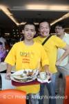 "The ""clean""ers of KLCC food court (Pekerja Pem""bersih""an food court KLCC)!"
